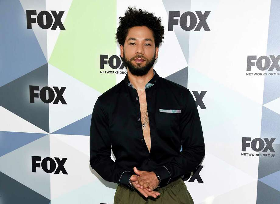 "FILE - In this May 14, 2018, file photo, Jussie Smollett attends the Fox Networks Group 2018 programming presentation after party at Wollman Rink in Central Park in New York. A judge is expected to be assigned to Smollett's disorderly conduct case when the ""Empire"" actor returns to court Thursday, March 14, 2019. Smollett is accused of lying to police about being the victim of a racist and homophobic attack by two men on Jan. 29 in Chicago. Smollett, who is free on bond, maintains his innocence. (Photo by Evan Agostini/Invision/AP, File) Photo: Evan Agostini / Invision"