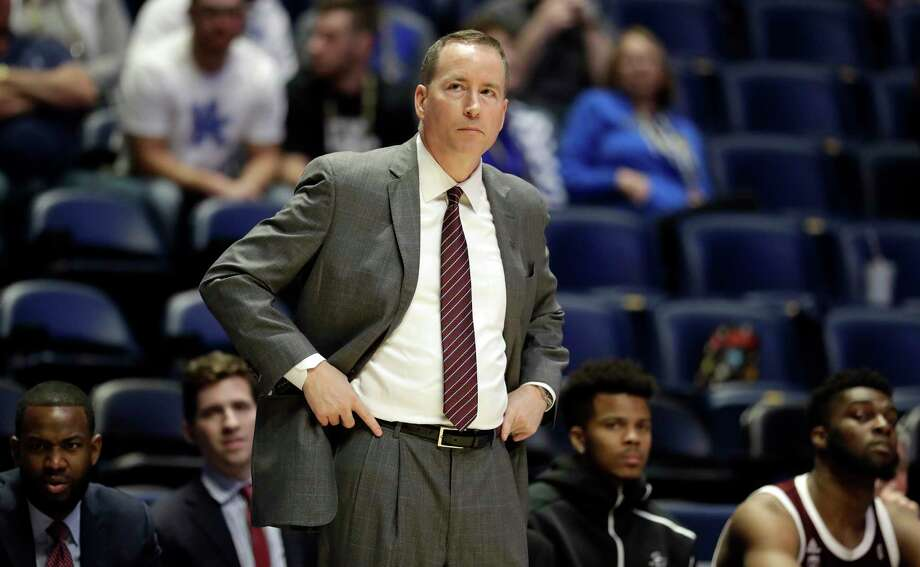 PHOTOS: Highest paid college basketball coaches (past and present)  Texas A&M head coach Billy Kennedy watches in the second half of an NCAA college basketball game against Mississippi State at the Southeastern Conference tournament Thursday, March 14, 2019, in Nashville, Tenn. Mississippi State won 80-54. (AP Photo/Mark Humphrey)  >>>Browse through the photos to see which coaches earn the most ...  Photo: Mark Humphrey, Associated Press / Copyright 2019 The Associated Press. All rights reserved