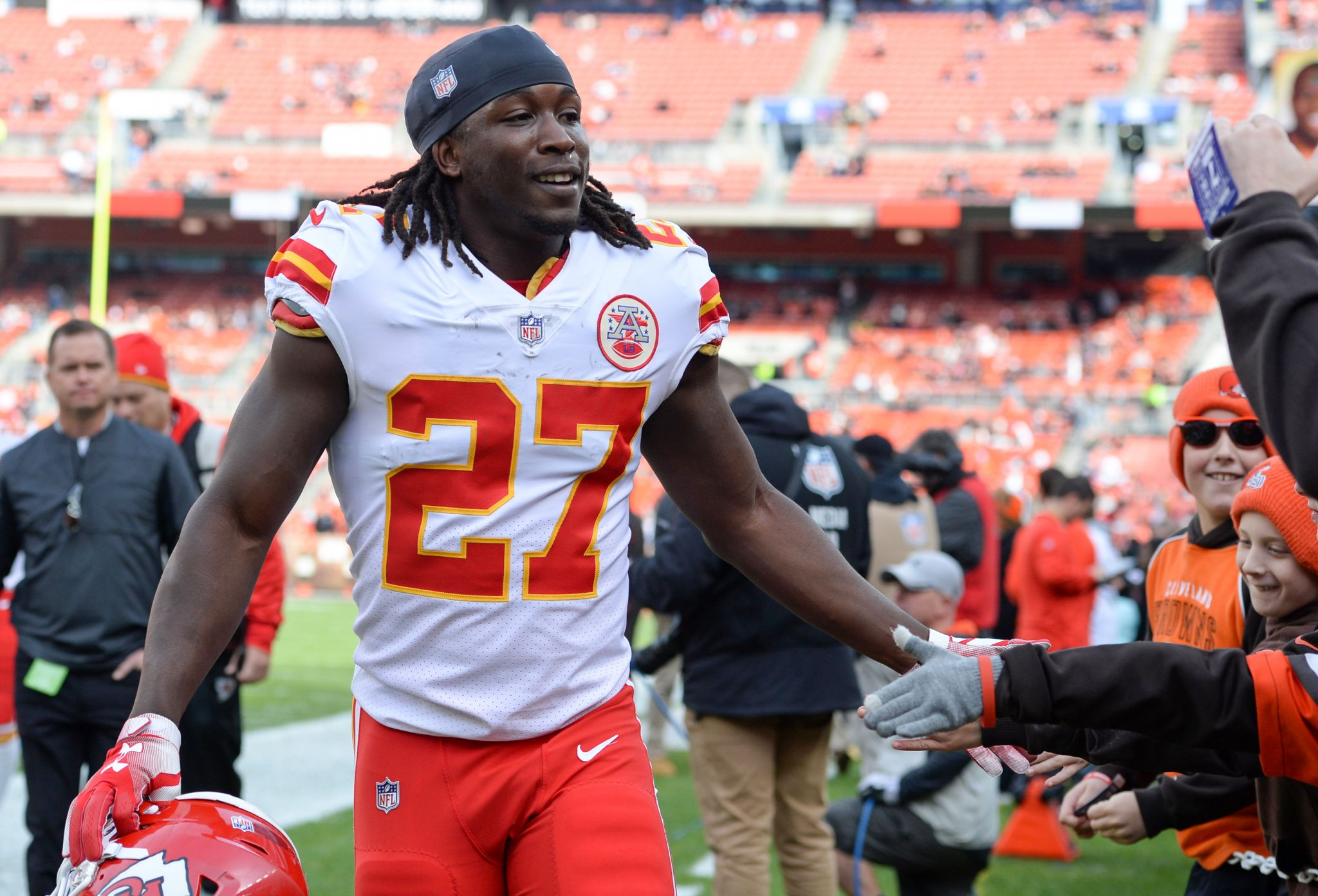 Creech: We can't just move on after Kareem Hunt suspension