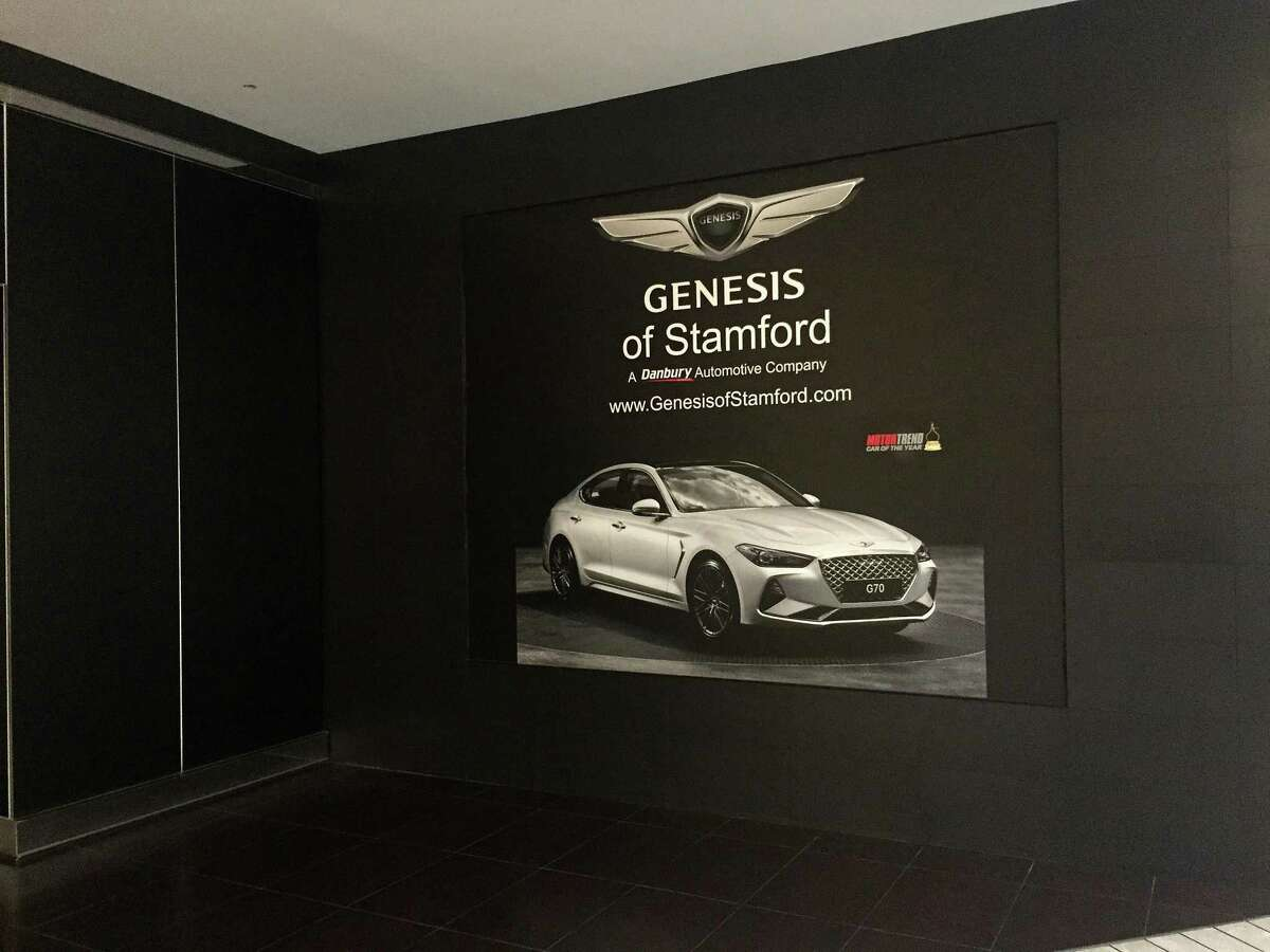 Genesis is planning to open a car showroom at Stamford Town Center mall.