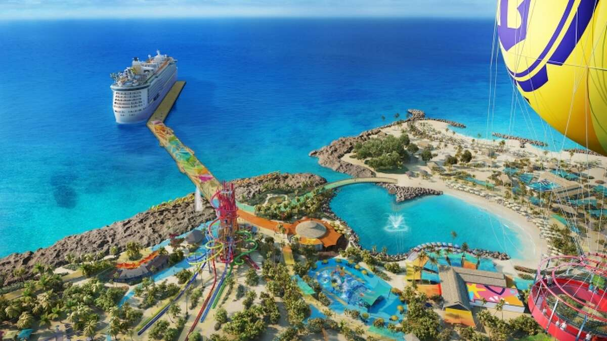 Beginning this summer, cruise-goers will have the chance to sail straight from Galveston to Perfect Day at CocoCay, a paradise islandwith its own record-breaking waterpark and private beach clubs.