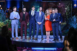 THE BACHELOR - 'Season Finale, Night Two' - America watched live on Monday night as a devastated and extremely emotional Colton finally decided what would be best for him. He put everything on the line, but what will happen to him and the remaining women? Find out on night two of the two-night, live special Season Finale event on 'The Bachelor,' TUESDAY, MARCH 12 (8:00-10:00 p.m. EDT), on The ABC Television Network, streaming and on demand. (John Fleenor via Getty Images) LUKE S., DUSTIN, CONNOR, CAM, HANNAH BROWN, CHRIS HARRISON, LUKE