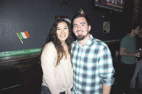 Domenique Madrigal and Andres Avina at Average Joe's