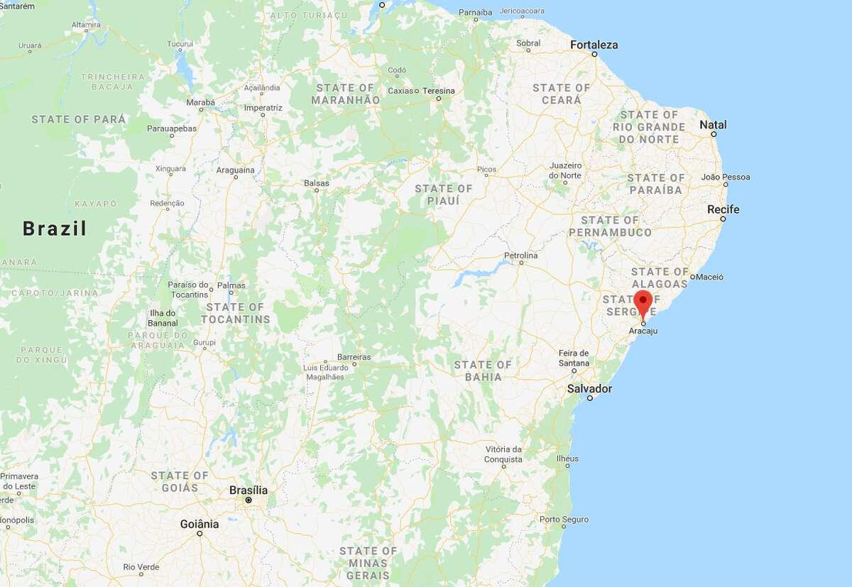 No. 25 - Aracaju Country: Brazil     Population: 949,342     Homicides: 463      Homicide rate per 100,000 people: 48.77