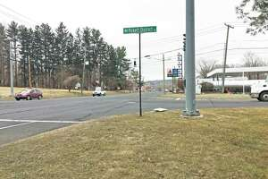 The Route 7 and Pickett District Road intersection, where a pedestrian was hit by a vehicle and killed the night of Thursday, March 14, 2019.