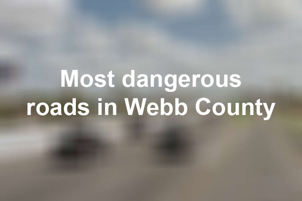 Keep scrolling to see the deadliest roads in Webb County in 2018, according to data from TxDOT.
