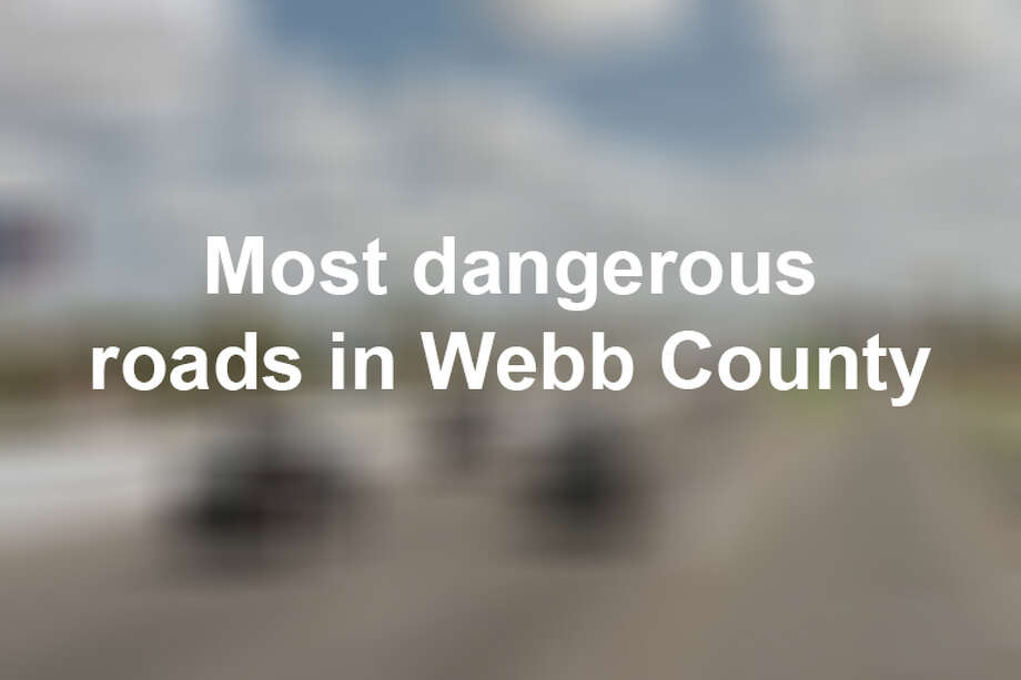 Keep scrolling to see the deadliest roads in Webb County in 2018, according to data from TxDOT. Photo: Google Maps