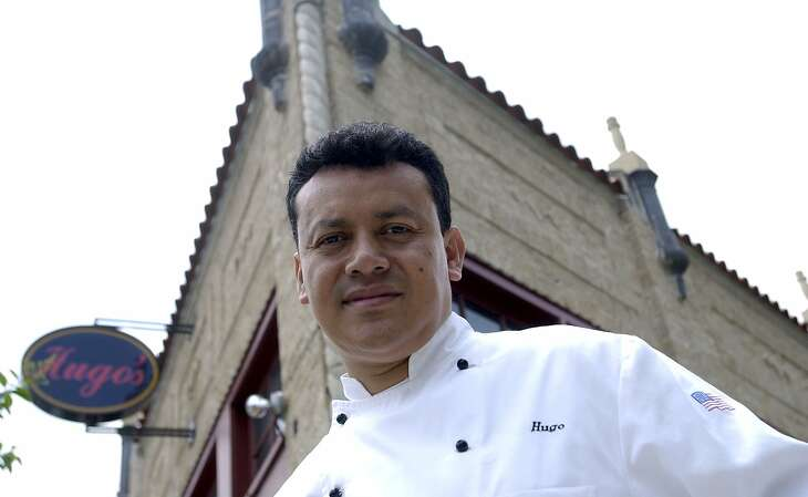 (5/15/03) Hugo Ortega, owner of Hugo's restaurant on Westheimer, snuck into the United States and became very successful, which may explain why people go to such drastic lengths to immigrate here, such as the 18 immigrants who died near Victoria on Wednesday .   (Karen Warren/Houston Chronicle)
