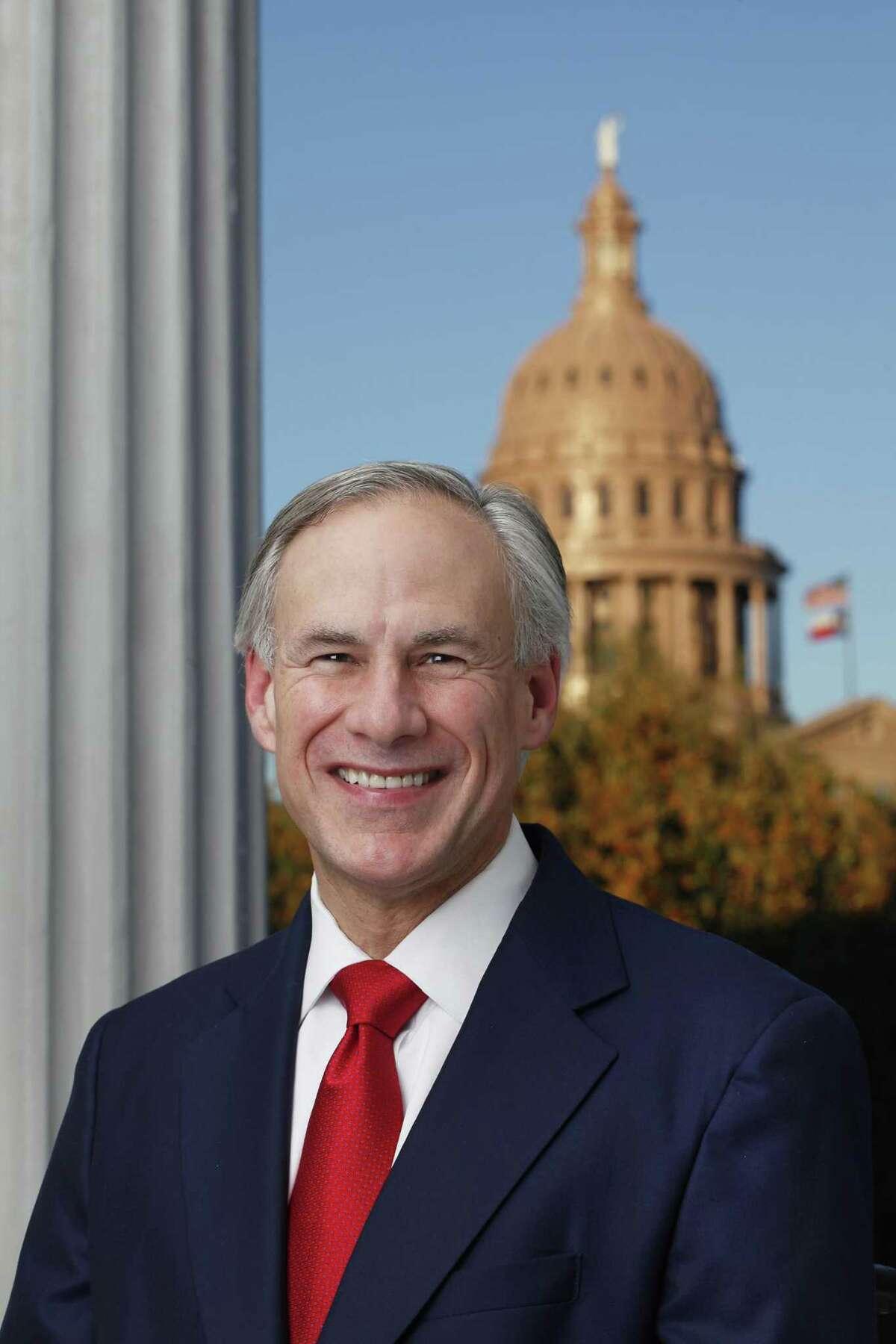 Photo of Governor Greg Abbott.