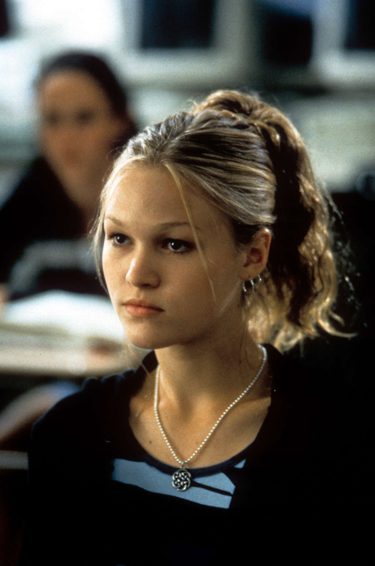 """Julia Stiles played the older sister, Kat Stratford, with an antisocial, shrewd demeanor. But as the film reveals, it may have all been a mask. The New York-born actress had been in both film and TV before the movie, playing a leading role in """"Wicked"""". But """"10 Things I Hate About You"""" paved the way for her streak as an early 2000s teen-movie star."""