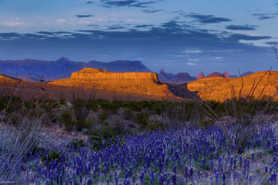 Photographer Lee McMullen, a former professor of microbiology, now spends his days looking through a lens, capturing the breathtaking landscapes at Big Bend National Park in west Texas. Photo: Lee McMullen