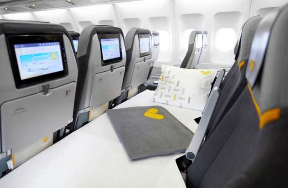 Thomas Cook Airlines is offering flat-bed economy seat rows in its A330s. Photo: Thomas Cook Airlines