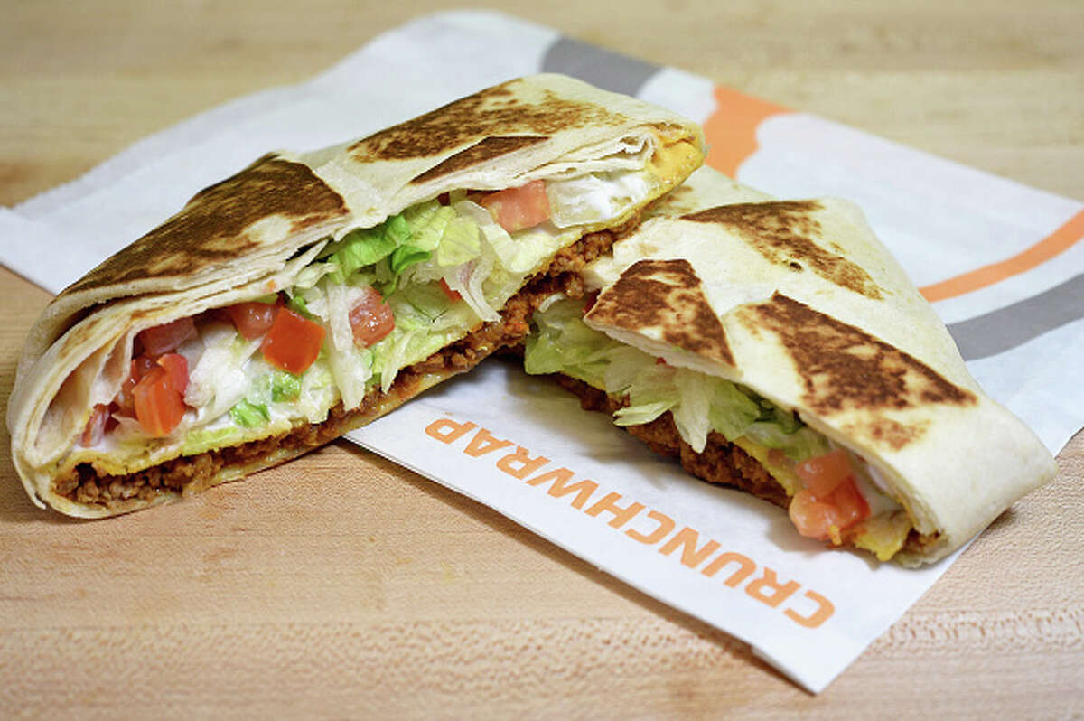 The Taco Bell Crunch Wrap can be made vegan by substituting beef for black beans and by removing sour cream and nacho cheese. Many fast food restaurants have options that can easily be made vegan or they have menu items that are accidentally animal-product free. Here are some options you can consider ordering at your next visit.