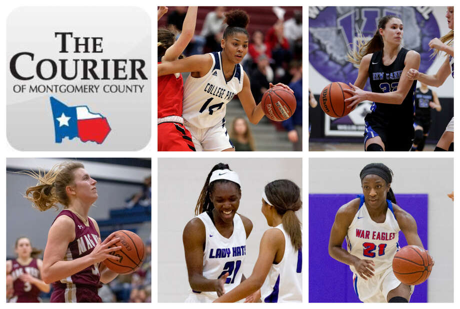 College Park's Sandra Cannady, New Caney's Tori Garza, Magnolia West's Hannah Eggleston, Willis' De'Janae Gilmore and Oak Ridge's Alecia Whyte are The Courier's nominees for Player of the Year. Photo: Staff Photos