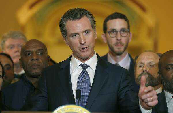 Calif. Gov. Gavin Newsom puts himself at top of national news with moratorium on death penalty