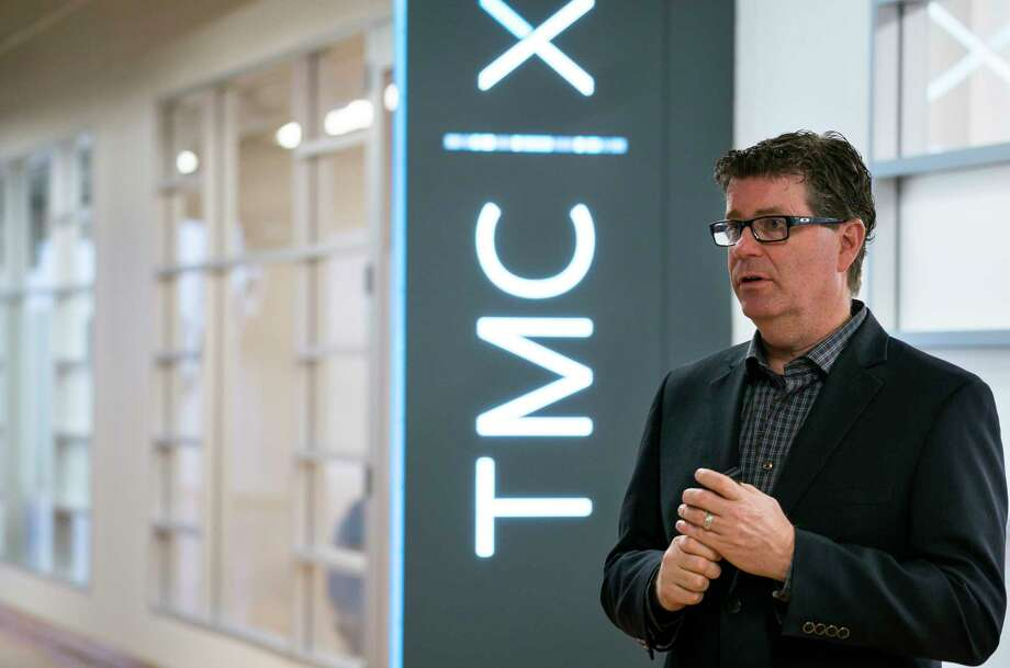Tom Luby is the new director of the TMC Innovation Institute. Photo: Mark Mulligan, Staff Photographer / © 2019 Mark Mulligan / Houston Chronicle