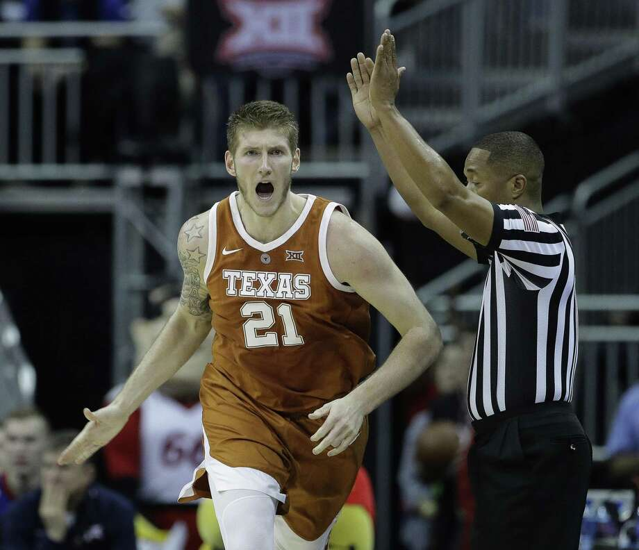 Senior forward Dylan Osetkowski firmly believes UT remains deserving of an NCAA Tournament spot despite a 16-16 record. Photo: Charlie Riedel / Associated Press / Copyright 2019 The Associated Press. All rights reserved.