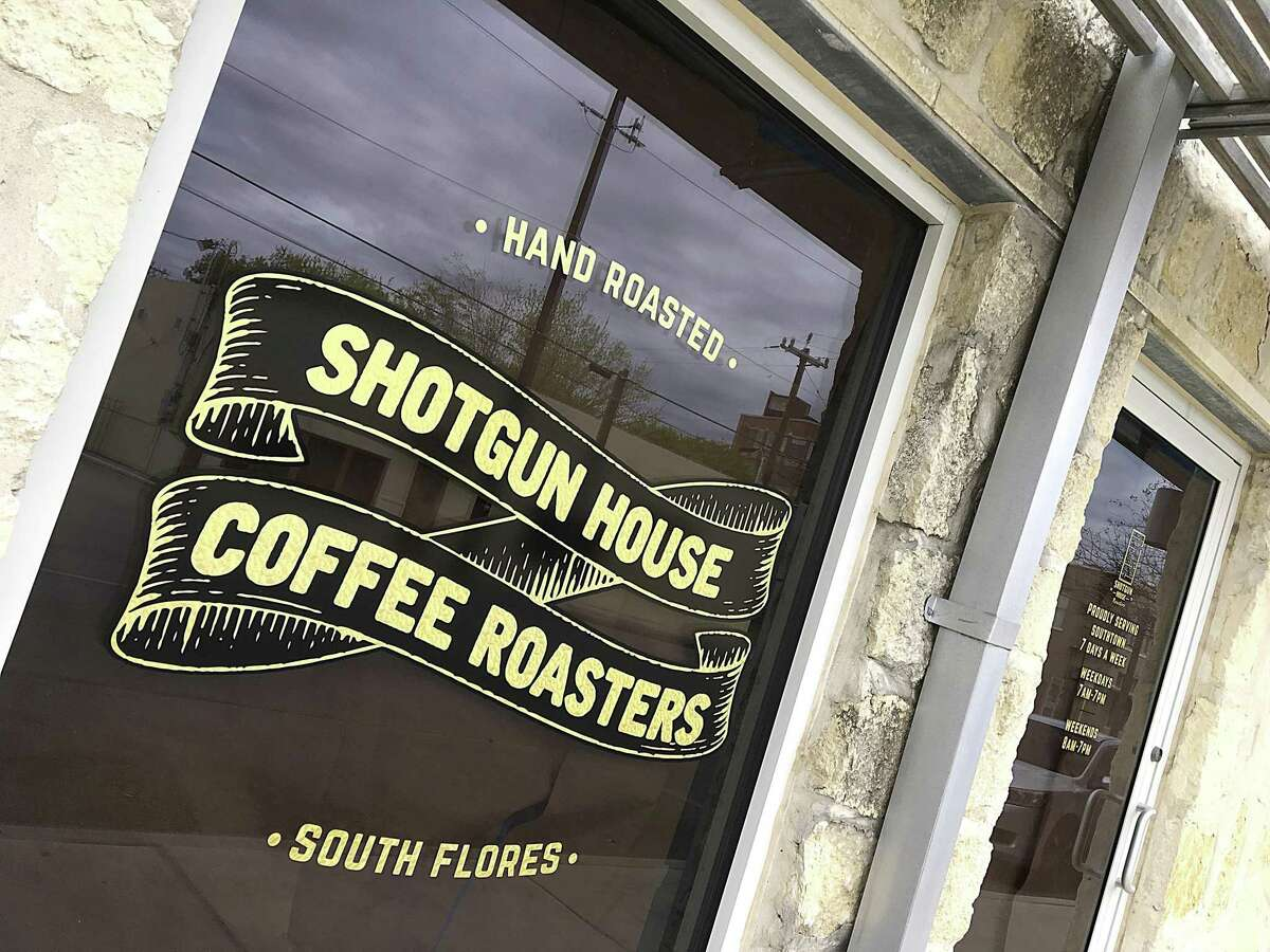 The new Southtown location of Shotgun House Coffee Roasters is part of the The 1010 apartment development on South Flores Street.