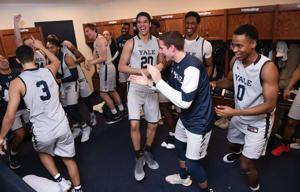 The Yale men's basketball team will be right at home this weekend in the Ivy League tournament.