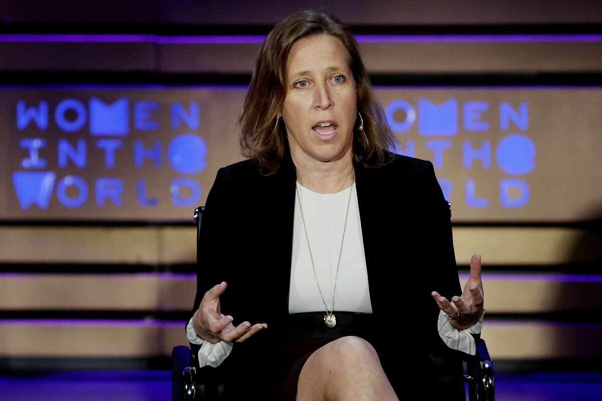 FILE- In this April 6, 2017, file photo YouTube CEO Susan Wojcicki speaks during the Women in the World Summit at Lincoln Center in New York. YouTube's year-in-review video within a week earned the unwelcome distinction of becoming the most disliked video on its own platform, ever. Wojcicki acknowledged in a February blog post that the video had missed the mark. (AP Photo/Richard Drew, File)