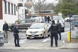 A police presence is seen outside of the ICCNY Islamic Center on Washington Avenue in Stamford on Friday. Stamford police added mosques and Islamic centers to patrol routes after the attacks that killed 49 in New Zealand. Capt. Richard Conklin said there were no threats. Police remained in contact with leaders and stopped by to re-assure the city's Muslim community.