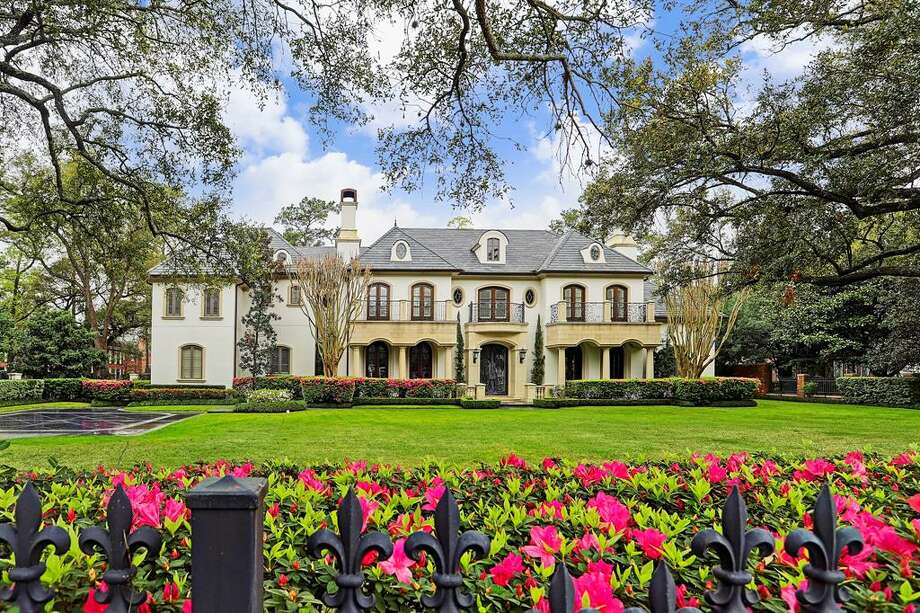 Neighborhood: River Oaks2320 River Oaks Boulevard$8.3 million 7 bedrooms, 7 & 5 half bathrooms11,298 square feet Photo: Houston Association Of Realtors