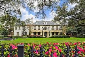 Neighborhood: River Oaks   2320 River Oaks Boulevard    $8.3 million 7 bedrooms, 7 & 5 half bathrooms 11,298square feet