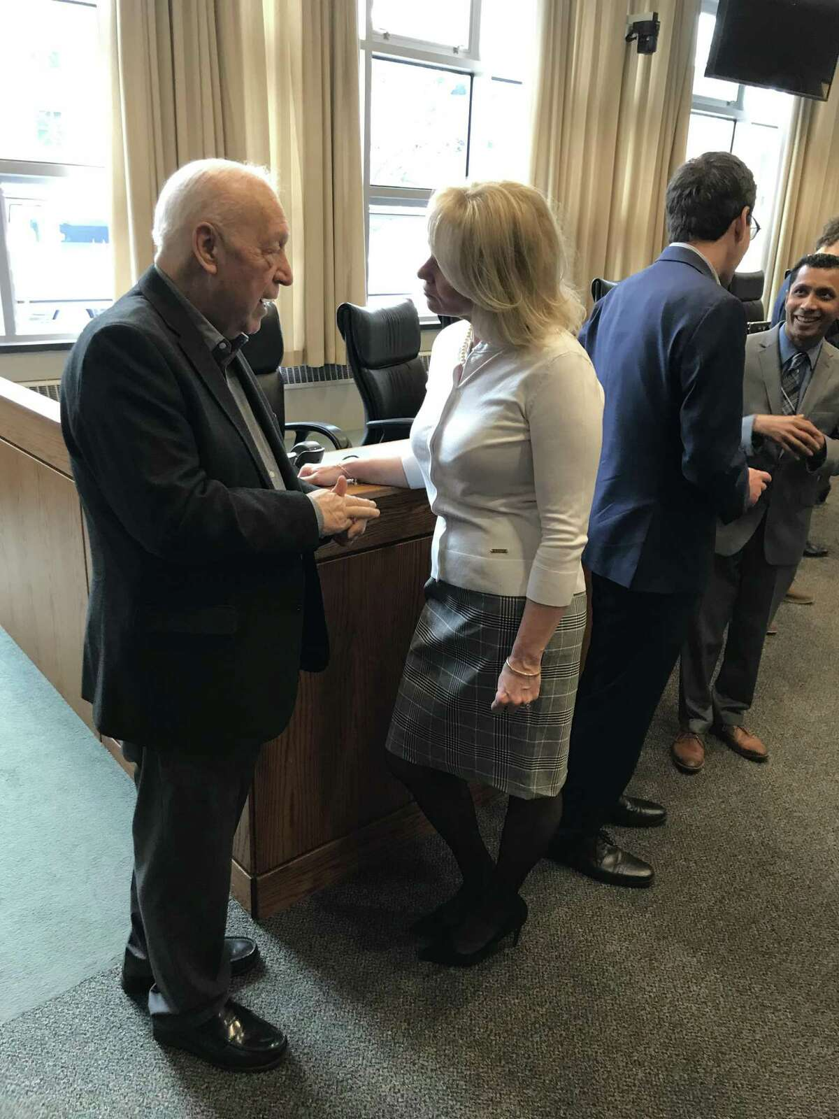 Lt. Gov. Susan Bysiewicz joined Congresswoman Rosa DeLauro, Congressman John Larson, Middletown Deputy Mayor Bob Santangelo, Councilwoman Mary Bartolotta, and other members of the Middletown community on Friday, March 15, 2019, to highlight the importance of a complete count for the 2020 U.S. Census.