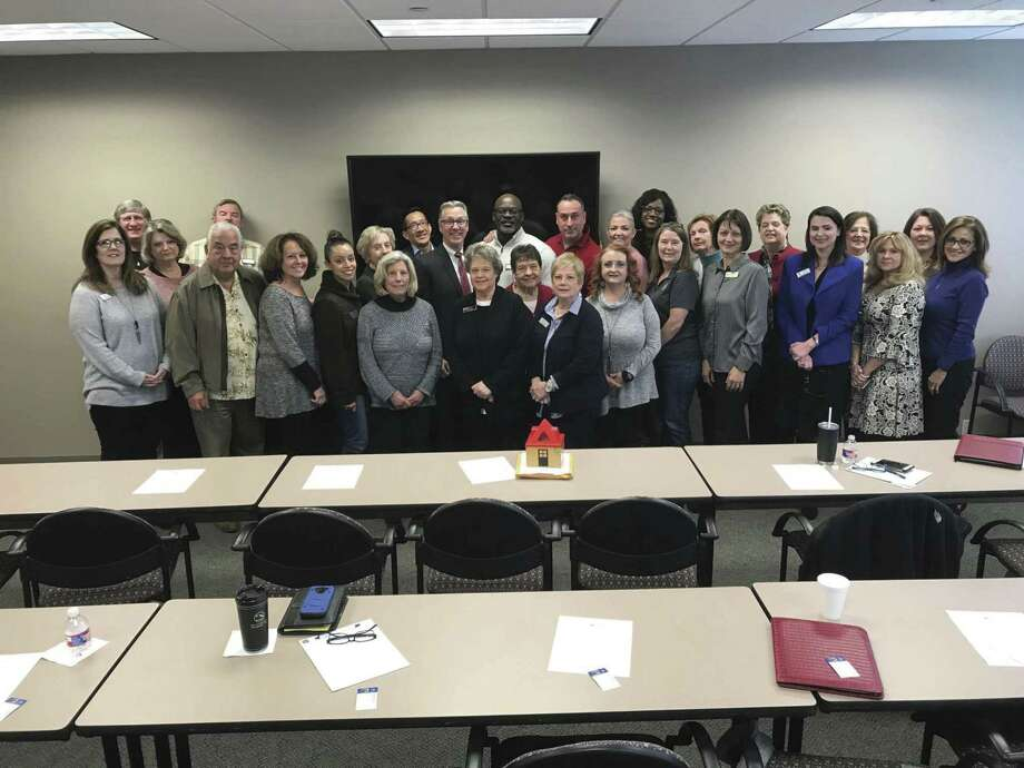 Stewart Title kicked off this year's presentations in Kingwood on March 4.