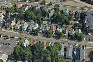 A Google Maps view of the 300 block of Colorado Avenue in Bridgeport, Conn.