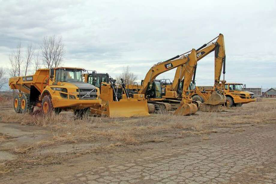 Construction equipment showed up at the job site of the future home of the area's new Meijer this week, at the corner of M-53 and M-142 in Colfax Township. Meijer is slated to break ground on the project this year, and has an opening date for sometime in 2020. The store is projected to bring 140 jobs to the area. (Mike Gallagher/Huron Daily Tribune)