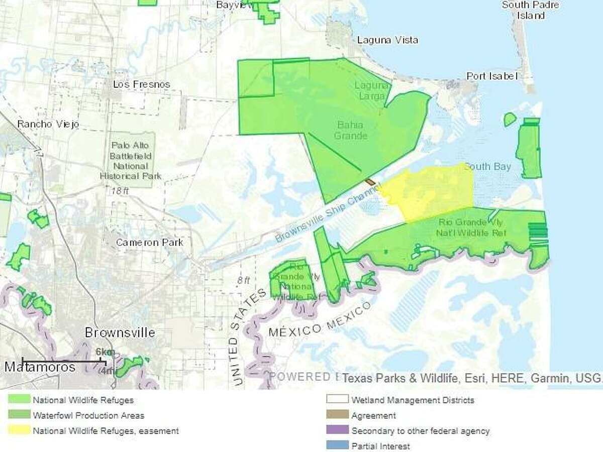 Located along the Brownsville Ship Channel and next to a unit of the Laguna Atascosa National Wildlife Refuge, the proposed liquefied natural gas export terminal is inside a migratory corridor between the United States and Mexico for the ocelot, jaguarundi and aplomado falcon.