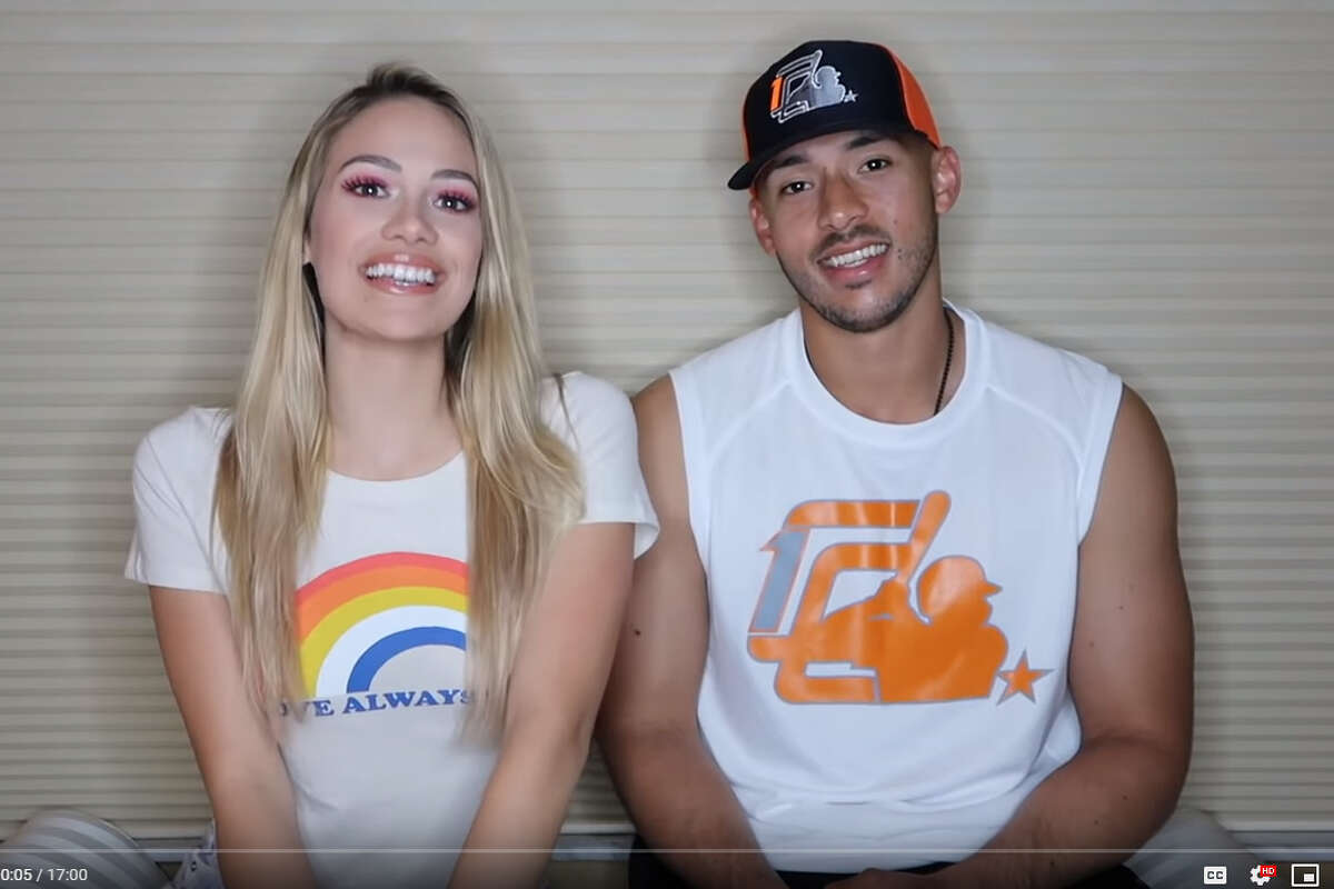Daniella Rodriguez shared how she met her fiance, Astros star Carlos Correa, in a video on her new YouTube channel Thursday. >> Click through the gallery to see Correa and Rodriguez through the years.