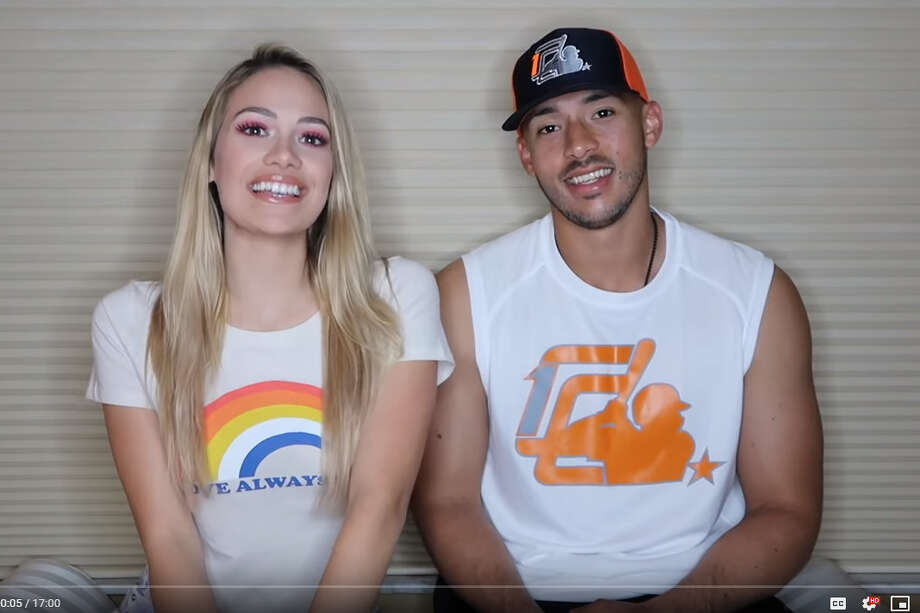 Daniella Rodriguez shared how she met her fiance, Astros star Carlos Correa, in a video on her new YouTube channel Thursday. >> Click through the gallery to see Correa and Rodriguez through the years. Photo: YouTube Screengrabs