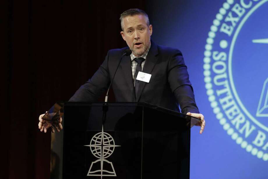 Southern Baptist Convention President J.D. Greear said all the right things after sexual misconduct was reported. The resignation of the bylaws chairman, however, raises questions about the SBC investigation. Photo: Mark Humphrey / Associated Press / Copyright 2019 The Associated Press. All rights reserved