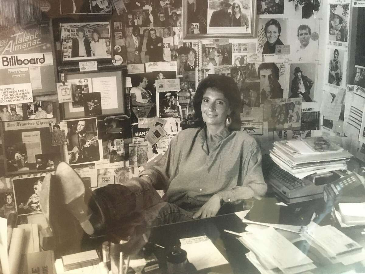 Jeannie Patterson in her office at the Sweetwater