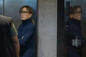 Actress Felicity Huffman, seen inside a Los Angeles courthouse last week, is among those indicted in a nationwide university admissions scam. Getting into college isn't easy — and it isn't meant to be.