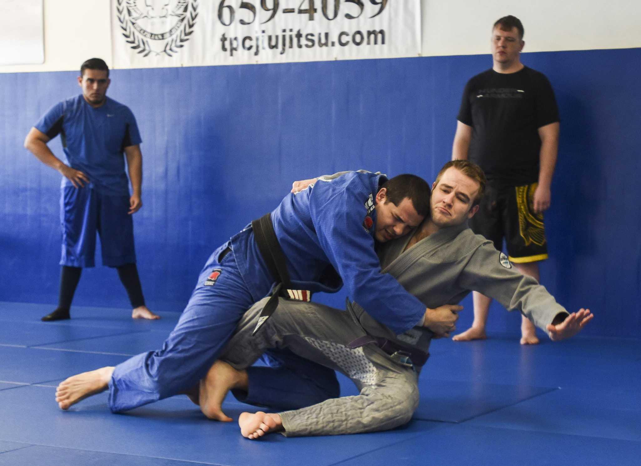 UFC champ to visit Beaumont jiu-jitsu studio