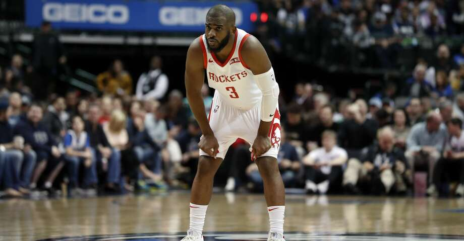 PHOTOS: Rockets game-by-game Houston Rockets guard Chris Paul (3) watches as free throws are taken during an NBA basketball game against the Dallas Mavericks in Dallas, Sunday, March 10, 2019. (AP Photo/Tony Gutierrez) Browse through the photos to see how the Rockets have fared in each game this season. Photo: Tony Gutierrez/Associated Press
