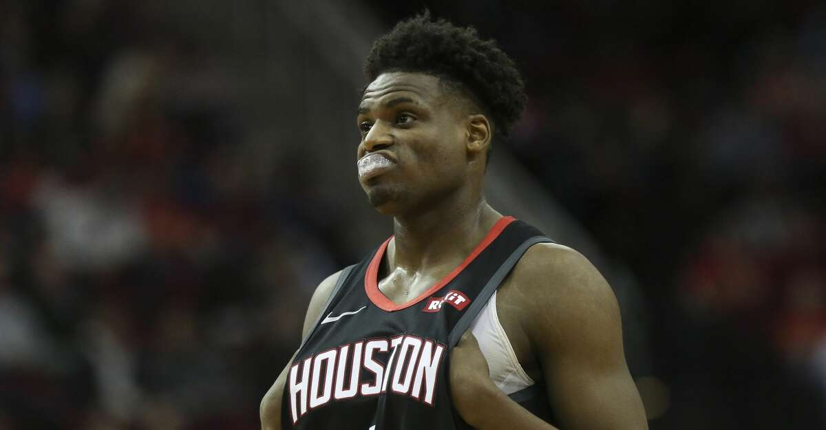 PHOTOS: Rockets game-by-game Houston Rockets forward Danuel House Jr. (4) during the third quarter of the NBA game against the Cleveland Cavaliers at Toyota Center on Friday, Jan. 11, 2019, in Houston. The Houston Rockets defeated the Cleveland Cavaliers 141-113. Browse through the photos to see how the Rockets have fared in each game this season.