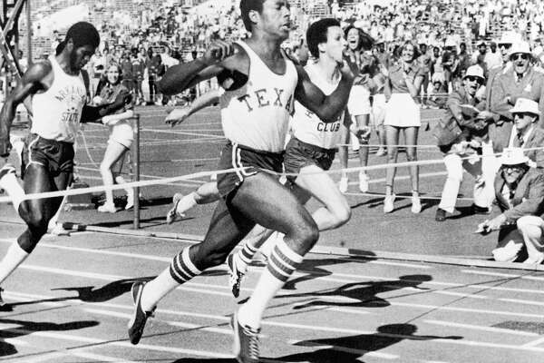 """Johnny """"Lam"""" Jones was a 1976 Olympic gold medalist on the U.S. mile relay team and starred in football. He spent five years with the New York Jets."""