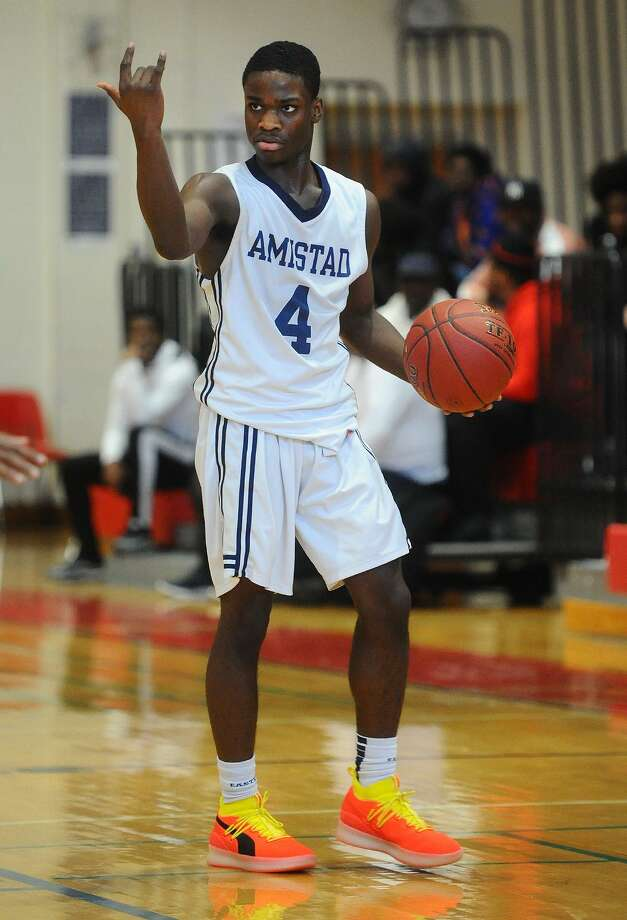 AJ Edwards and Amistad will take on Farmington in the Division III championship game on Sunday. Photo: Brian A. Pounds / Hearst Connecticut Media / Connecticut Post