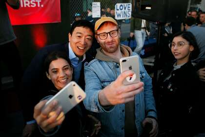 Pundits laugh at Andrew Yang. Regular people don't