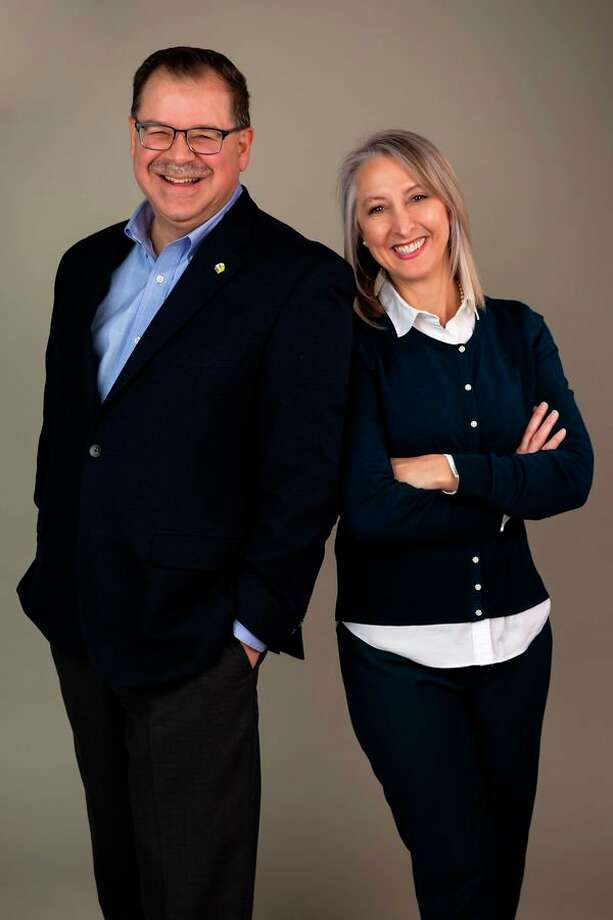 Jon and Tina Lynch of Midland are the honorary chairs of the 2019 Chefs for Shelterhouse fundraiser. The event will take place May 9 at The Great Hall.