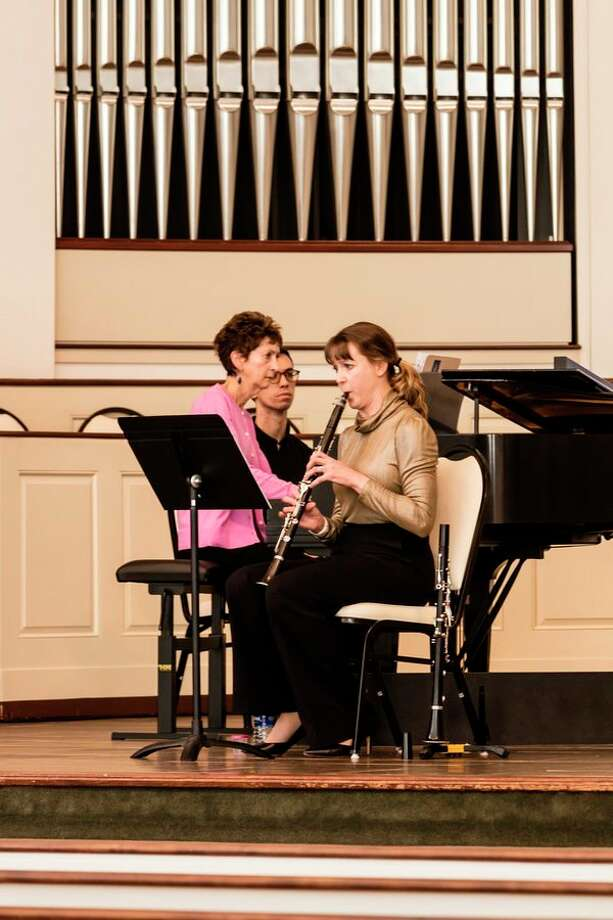Clarinetist Jennifer Laubenthal presented a concert on March 8, at Memorial Presbyterian Church to kick off the 2019 Lenten Concert Series. (photo courtesy of William C. Lauderbach) 				  / William C. Lauderbach