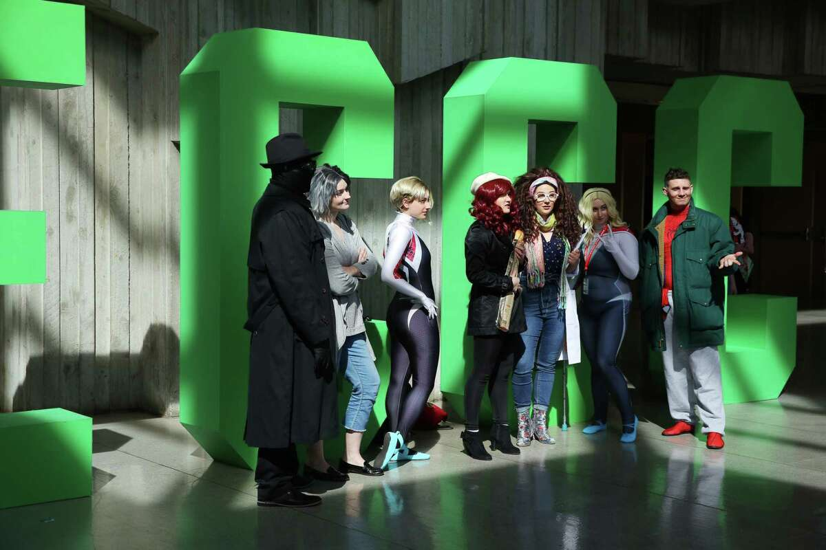 Scenes from day two of the 2019 Emerald City Comic Con at the Washington State Convention Center, Friday, March 15, 2019.