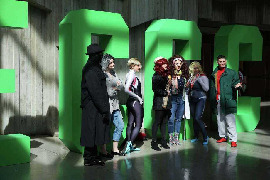 Scenes from day two of the 2019 Emerald City Comic Con at the Washington State Convention Center, Friday, March 15, 2019. Photo: Genna Martin / seattlepi.com