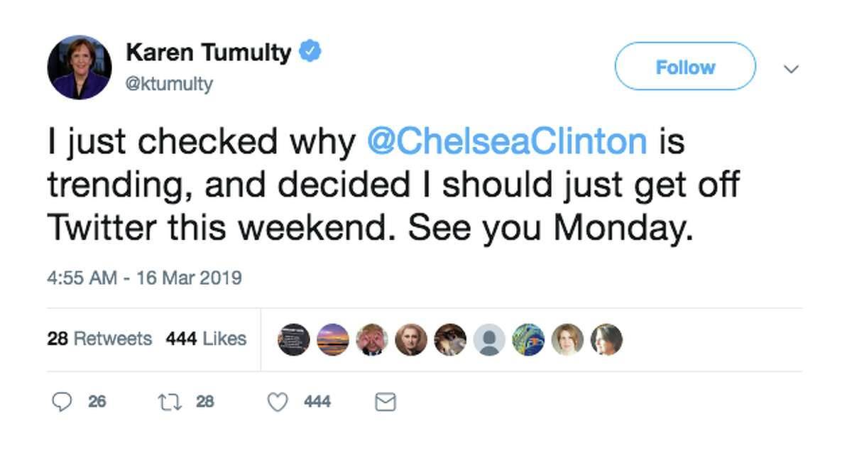 """NYU students confronted Chelsea Clinton and accused her of using """"rhetoric"""" that helped cause a shootings in New Zealand that caused 49 people."""