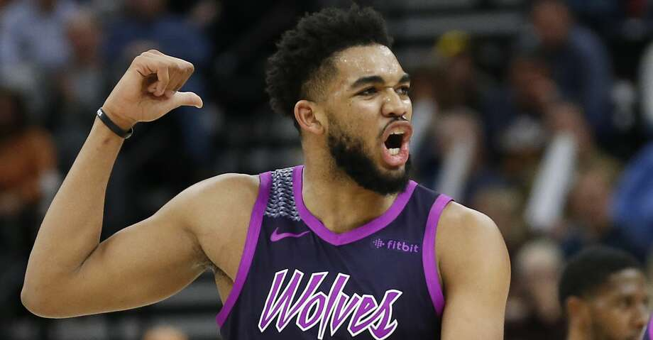 Rockets Prepare To Defend Timberwolves Karl Anthony Towns