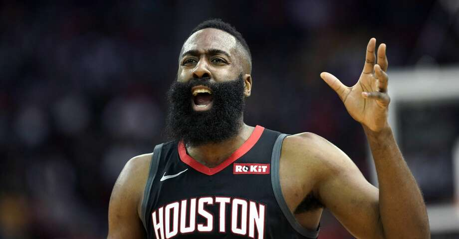 PHOTOS: Rockets game-by-game Houston Rockets' James Harden reacts after being called for a foul during the first half of an NBA basketball game against the Golden State Warriors, Wednesday, March 13, 2019, in Houston. (AP Photo/David J. Phillip) Browse through the photos to see how the Rockets have fared in each game this season. Photo: David J. Phillip/Associated Press